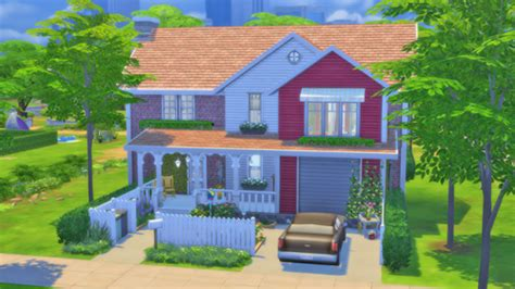 """Download sims 4 mansion mod & furnish your dream mansion. simblragain: """" Cranberry house • three bedrooms • three ..."""