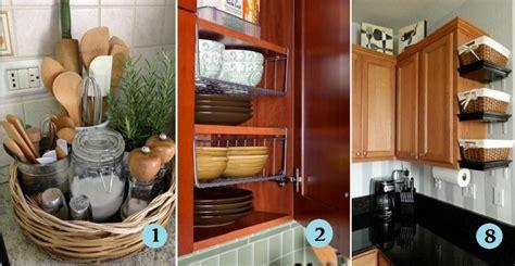 astuces rangement cuisine 12 idées géniales de rangements pour gagner de l 39 espace