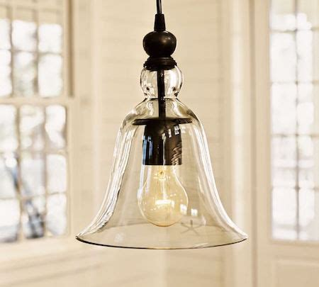 Pottery Barn Large Rustic Glass Pendant by Pottery Barn Rustic Glass Indoor Outdoor Pendant Look For Less