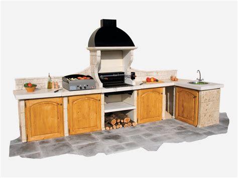 cuisine ete bois barbecue cuisine d 233 t 28 images bar exterieur en
