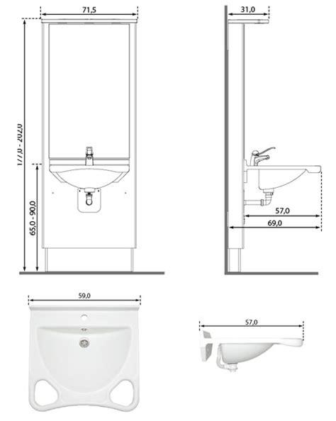 Welche Höhe Waschbecken by Waschtisch Waschbecken Verstellbar Hohenverstellbar