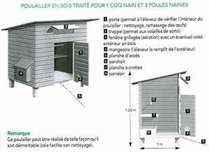 Construire Un Poulailler En Bois : plan poulailler mon poulailler ~ Melissatoandfro.com Idées de Décoration