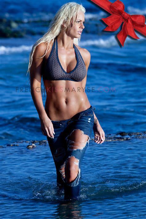 maryse bikini photo shoot hot pwmania