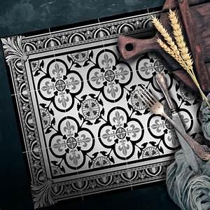 Set De Table Carreaux Ciment : set de table carreaux de ciment garance noir 35x50cm ~ Melissatoandfro.com Idées de Décoration