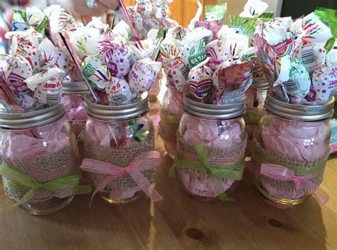 Mason Jar Baby Shower Decorations by Mason Jars Baby Shower Center Pieces Baby Girls