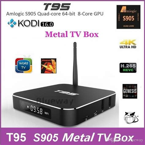 amlogic s905 t95 tv box kodi 16 0 xbmc android 5 1 ultrahd 4k t95 s905 android tv box t95 kodi 16 0 fully load