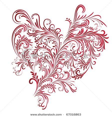 Zentangle Heart Patterns