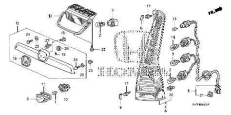 Honda Online Store Crv Taillight License Light Parts
