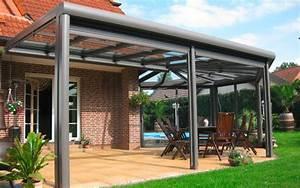 Aluminium Terrassenüberdachung Glas : terrassen berdachung was sind die vor und nachteile fensterbau ratgeber ~ Whattoseeinmadrid.com Haus und Dekorationen