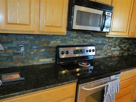 slate kitchen backsplash beautiful slate kitchen backsplashes pictures with