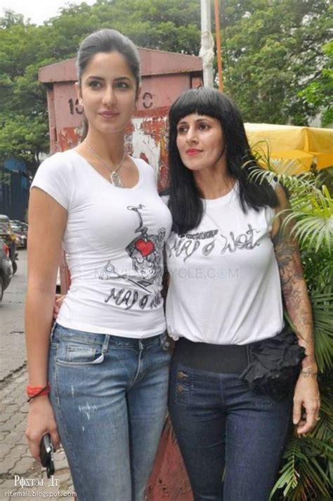 katrina kaif looked stunning   shirt jean