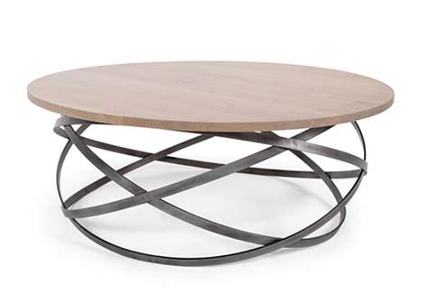 table ronde de cuisine table basse ronde originale le bois chez vous