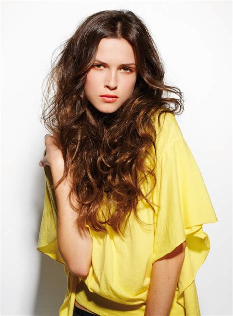very long hairstyle with curls and movement