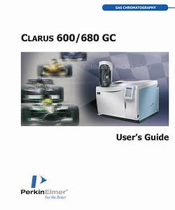 Clarus 600  680 Gc User U0026 39 S Guide