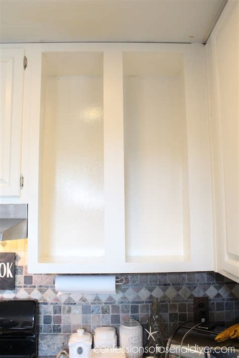 how to add glass to cabinet doors confessions of a
