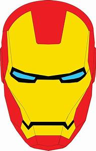 Iron man face iron man and iron man pinterest for Iron man face mask template