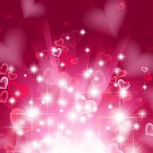 Abstract Heart Background in Pink   Free Vector Graphics ...
