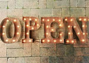 16 best letter light images on pinterest letters With wall letters for business