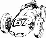 Coloring Indy Race Cars Popular sketch template