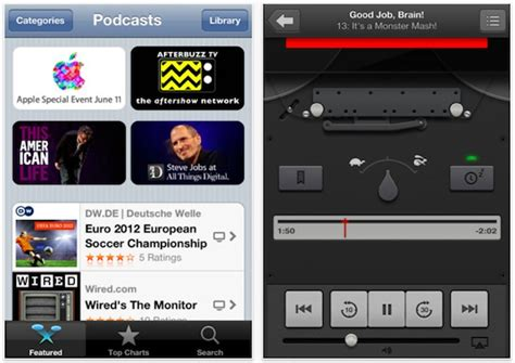 how to play podcasts on iphone apple releases podcasts app for ios technology news