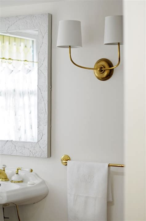 Vendome Double Sconce  Transitional  Bathroom  Ore Studios