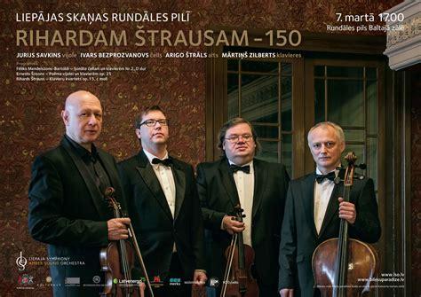Koncerts Rihardam Štrausam 150 - Rundāles pils
