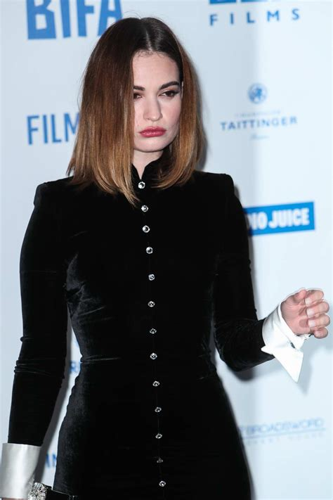 lily james attends  british independent film awards    billingsgate  london uk