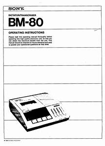 Sony Bm-80