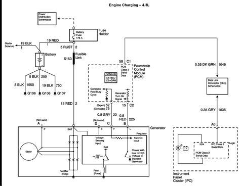 ac delco  wire alternator wiring diagram  wiring