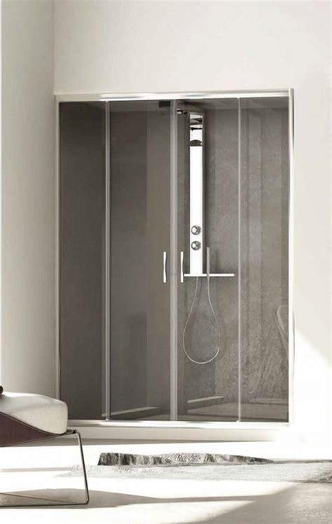 porte doccia nicchia box doccia per nicchia 2 ante scorrevoli spedizione