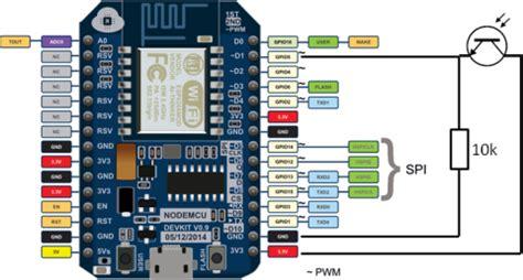 Power Meter Pulse Logger With Esp Running Nodemcu