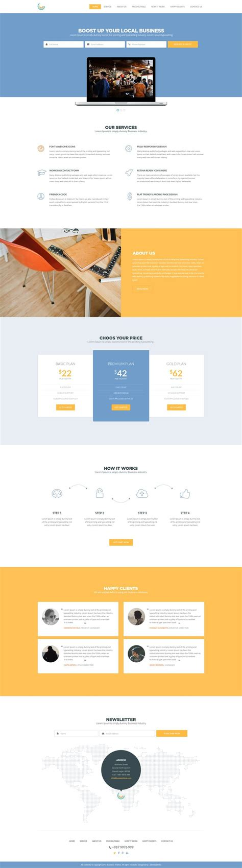 business website templates free corporate and business web templates psd