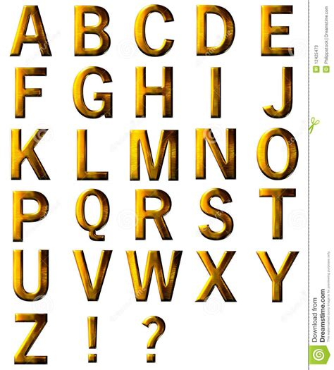 gold alphabet 3d letters stock photography image 29339742 set 3d golden letter isolated stock photos image 12425473 75864