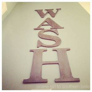 laundry room diy wall art the taylor house With laundry letters decor