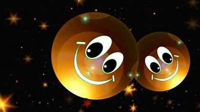 Happy Smile Smileys Stars Background Hdtv Fhd
