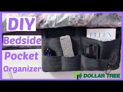 diy dollar tree bedside organizercaddy dollar store
