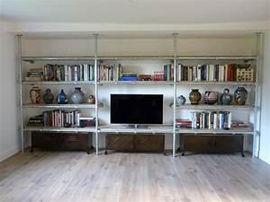 Fabriquer Meuble Bois : fabriquer etagere bois pour garage avec etagere pour cave etagere de rangement cave ikea ~ Voncanada.com Idées de Décoration