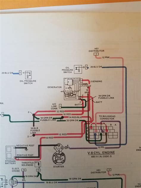 1978 Firebird Wiring Diagram by 1978 Trans Am Carb Ls2 Alternator Wiring Question