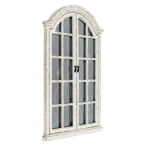 Related:window pane wall decor window frame wall decor window wall sticker. Garden Window Mirror Distressed White Metal Wall Frame Rustic Farmhouse Decor | eBay