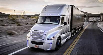 Truck Freightliner Concept Inspiration Daimler Trucks Semi