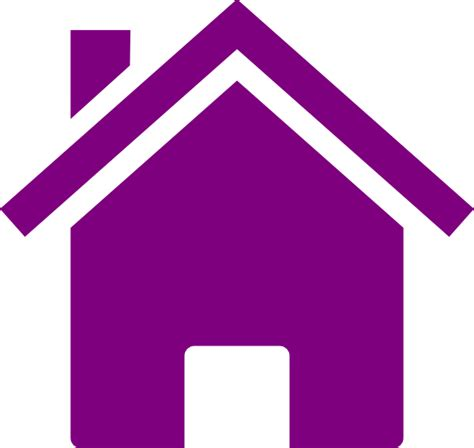 clipart casa casa roxa clip at clker vector clip