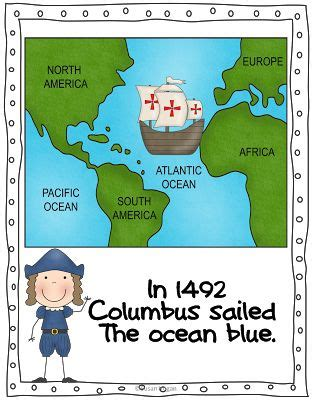 152 best christopher columbus activities images on 293 | 410871fce2f789501882a7e9ac603f32 first grade christopher columbus
