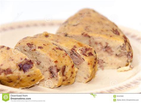 spécialité de plnjenjina de cuisine slovaque photo stock
