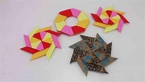 Weihnachtsstern Selber Basteln : origami ninja stern falten modularen stern selber machen ~ Lizthompson.info Haus und Dekorationen
