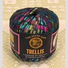 """Lion Brand Trellis """"stained Glass"""" Yarn  1 Skein $12"""