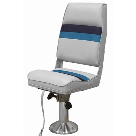 Boat Fishing Chairs by Wise Pontoon Boat Fishing Seat Wd434ls