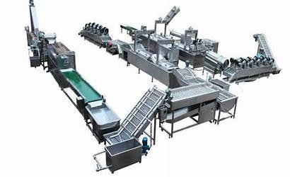 Potato Chips Automatic Production Line Machine Plant