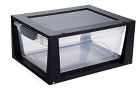 boite de rangement plastique empilable avec tiroir 11 litres