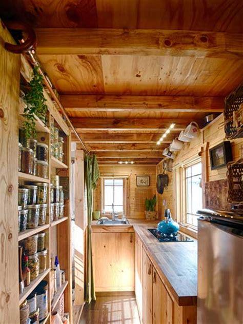 tiny tack house kitchen  tiny houses