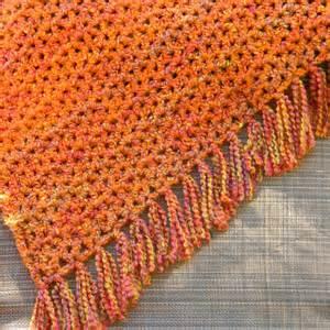 Easy V Stitch Crochet Afghan Pattern